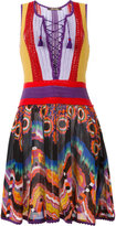 Roberto Cavalli crochet top dress - women - Cotton - 40