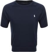 Ralph Lauren Short Sleeve Sweatshirt Navy