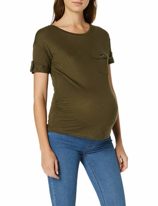 Dorothy Perkins Maternity Women's Short Sleeve Utility TOP Maternity T-Shirt