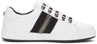 Balmain White Esther Sneakers