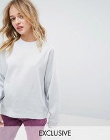 Monki Metallic Sweat Jumper