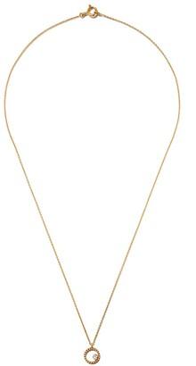 As 29 18kt yellow gold Mye round beading diamond necklace