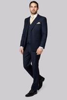 Savoy Taylors Guild Regular Fit Navy Birdseye Suit