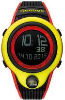 Reebok Pump InstaPump Digital Men's Chrono Watch Yellow and Red RC-PIP-G9-PYPB-BW