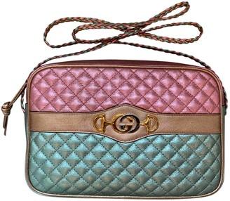 Gucci Ophidia Metallic Leather Handbags