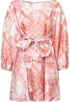 Zimmermann tie dye flared dress - women - Silk/Viscose - 1
