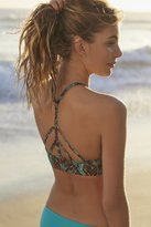 Out From Under High Neck Printed Bikini Top