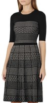 Reiss Alithia Patterned Knit Dress