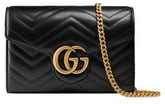 Gucci GG Matelasse Leather Wallet on a Chain