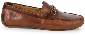 Cole Haan Leather Buckle Loafers