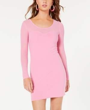 Material Girl Juniors' Mesh Bodycon Dress, Created for Macy's