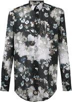 MSGM floral print shirt - men - Cotton - 41