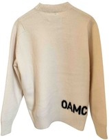 Oamc Ecru Wool Knitwear for Women