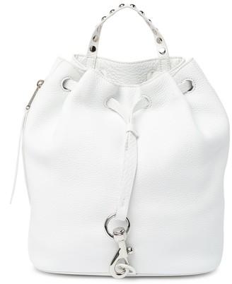 Rebecca Minkoff Blythe Drawstring Leather Backpack