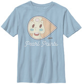Fifth Sun Boys' Tee Shirts LT - Steven Universe Light Blue 'Pearl Points' Tee - Boys