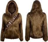 Star Wars I Am Furry Chewbacca Womens Costume Zip-Up Jacket | L