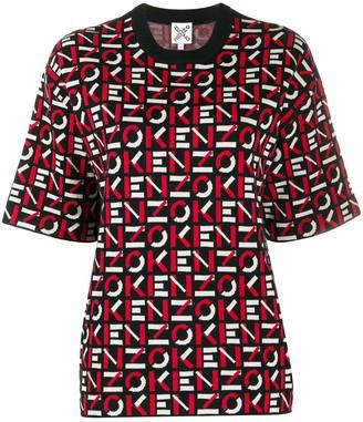 Kenzo Monogram Knit Top