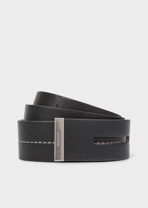 Paul Smith Women's Black Leather Knot Belt