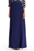 Diane von Furstenberg Bethune Chiffon Maxi Skirt