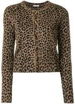 Balenciaga Leopard print cardigan