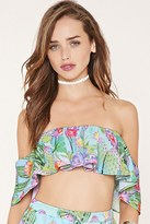 Forever 21 FOREVER 21+ Jaded London Cactus Crop Top