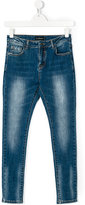 John Richmond Kids flaming dice jeans