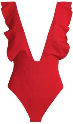 Vix Milano Ruffled Swimsuit