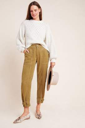 Anthropologie Jackson Tapered Utility Trousers