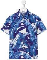 Dolce & Gabbana banana leaf print shirt