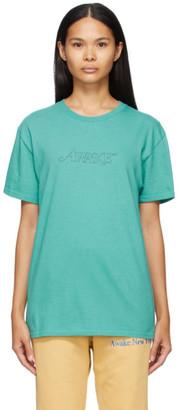 Awake NY Blue Classic Outline Logo T-shirt