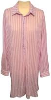 Roseanna Pink Cotton Dress for Women