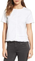 AG Jeans Women's Tawny Raw Edge Tee