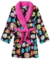 Disney Tsum Tsum Girls Bath Robe Soft Terry Bathrobe