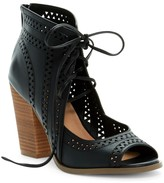 Restricted Weekday Lace-Up Bootie