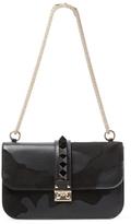 Valentino Garavani Rockstud Camouflage Medium Leather Shoulder Bag