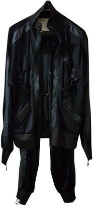 Christian Dior Black Viscose Leather jackets
