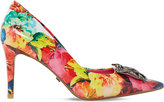 Dune Betti floral print courts