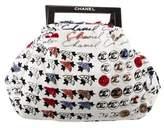 Chanel Camellia Velvet Handle Bag