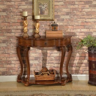 Astoria Grand Emrick Old World Entry Console Table