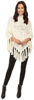 Hat Attack Fringe Poncho Scarves