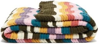 Missoni Home Walton Zigzag Wool-blend Blanket - Multi