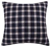 Levtex Lodge Euro Sham, Red Navy Plaid, Cotton
