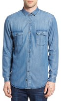 Rails Men's Beckford Slim Fit Chambray Shirt