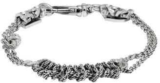 Emanuele Bicocchi Silver Crochet Bracelet