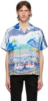 Amiri Multicolor Silk Tie-Dye Shirt