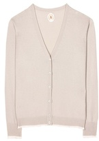 Jardin des Orangers Wool and cashmere V-neck cardigan
