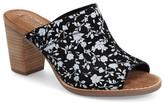Toms 'Majorca' Floral Suede Mule (Women)