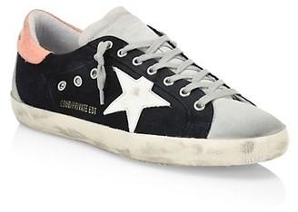 Golden Goose Men's Superstar Denim Sneakers