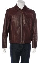 Billy Reid Leather Work Jacket