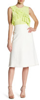 BCBGMAXAZRIA Woven A-Line Skirt